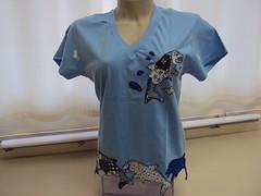 DSC00805 (Koisas da Arte 2011) Tags: fuxico aplicao pinturacountry camisetascustomizadas patchaplique paintpatch ustomizao comaplicao