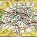 Paris - Métro Map 1973