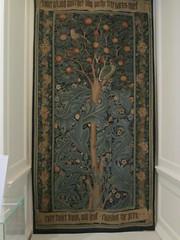 UK - London - Walthamstow - William Morris Museum - Orange tree tapestry (JulesFoto) Tags: uk england london walthamstow tapestry lloydpark williammorrismuseum