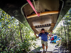GOPR4190 (SteveSchwarzPhotography) Tags: camping sports nature water landscape outdoors whitewater action scenic paddle canoe land recreation canoeing yellowknife yzf winderness liftjacket summersportsevents steveschwarzphotography canoehiddenlake
