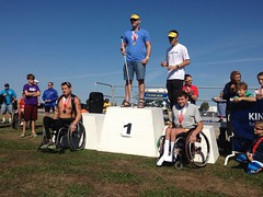(HowiRolldotcom) Tags: wheelchair paraplegic paralysis topend paralyzed howiroll handcycle forcer quadriplegic disabledsports paratriathlon nickelcitytriathlon topendrims