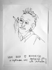 BBB (maartje jaquet) Tags: sketch drawing bbb tekening beverwijk schets bertbroodje punkmuseum broodjespunkmuseum beppyvierveger