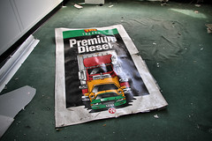 premium diesel (Desolate Places) Tags: abandoned offices labratory