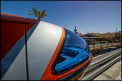 Monorail Monday - (Edition 49) (Coasterluver) Tags: station disneyland disney monorail tomorrowland monorailblue andrewkirby monorailmonday coasterluver