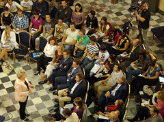 "Vice-President Viviane Reding at the CEMR 2012 in Cadiz: First of a series of ""Citizens Dialogues"" (connect.euranet) Tags: city spain european mayor forum country cities eu entrepreneurship national future cadiz local innovation region citizen europeanunion association 2012 values ownership participation generalassembly municipality representatives municipalities 2013 vivianereding mutualunderstanding euintegration cemr europeancommissioner sharedhistory oratoriodesanfelipeneri cemr2012 councilofeuropeanmunicipalitiesandregions citizensdialogues europeanyearofcitizens europeforcitizens europeforcitizensprogramme"