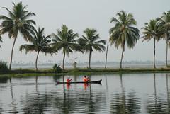 Alleppey Kerala, Indien 2008 (Gerhard Skrapits) Tags: alleppey karnataka indien backwaters landschaft wasser fotografie farbe skrapits kunst