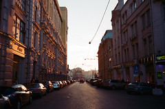 Myasnitskaya (proxypro) Tags: film mju kodak moscow olympus ii 400 ektar