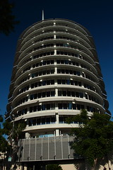 "Capitol Records from street • <a style=""font-size:0.8em;"" href=""http://www.flickr.com/photos/59137086@N08/8042220643/"" target=""_blank"">View on Flickr</a>"