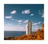 Faro de Astondo (Agur Al) Tags: sea sky costa sun lighthouse sol clouds faro atardecer coast nikon autum paseo cielo nubes otoño bizkaia gorliz euskalherria pueblocostero mygearandme mygearandmepremium agural