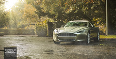 Autumn Morning (GSAutomotiveArt.com) Tags: morning autumn sun art fall cars photography nikon martin fast automotive het 28 rise luxury gs gijs voor aston leven d800 rapide 2470 droomrit spierings