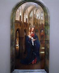van Eyck, The Madonna in the Church