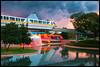 The Beauty of Epcot (Silver1SWA (Ryan Pastorino)) Tags: world sunset canon epcot disney monorail wdw walt canon5dmarkii