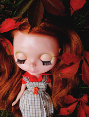 Little Red Ivy Girl