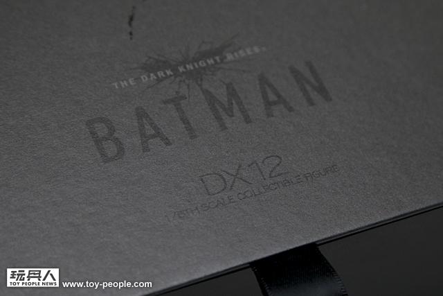 Hot Toys DX12 『黑暗騎士:黎明升起』布魯斯.韋恩/蝙蝠俠 開箱報告