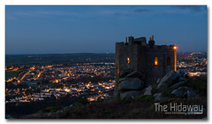 Tonight (Simon Bone Photography) Tags: castle night dark landscape lights town cornwall view cornish redruth carnbrea canoneos30d wwwthehidawaycouk canonef24105mmlf4
