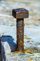 Rusted shut (GEHPhotos) Tags: bolt canoneos60d closeup efs18200mmf3556is hampshire nut nutbolt oldtown places portsmouth roundhouse rust uk