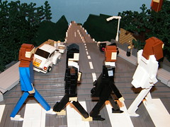 Abbey Road (LukeClarenceVan) Tags: lego beatles abbeyroad forcedperspective miniland