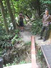 TRAKS Trail Day Oct. 2012: Rebuilding The Bridge On Snakes And Ladders @ Bukit Kiara (Traks Of Malaysia) Tags: malaysia traks snakesandladders bukitkiara malaysiatrulyasia