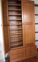 Custom built teak storage cabinet 27,000 BAHT