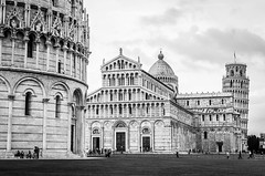 Pisa - Cathedral, Dome & Tower