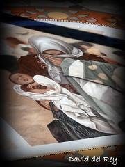 Alfombra Corpus (David del Rey78) Tags: laorotava tenerife canarias corpuschristi paisaje tradicin costumbre arte alfombra tierrasdelteide artesana sand earth tapz alfombradelcorpus alfombrasdearena refugiados misericordia refugee