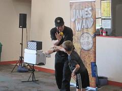 The Secret Agent Magic Show @ Haggard Library 7/21/16 (plano.library) Tags: secretagentmagicshow secretagent magicshow jameswand library libraries libraryprogram connectingfamilies familyfun plano haggardlibrary ppl planopubliclibrary