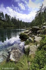 Lago delle streghe - Verbano Cusio Ossola (Pasquale D'Anna) Tags: alberi lago rocce acqua montagna lagodellestreghe