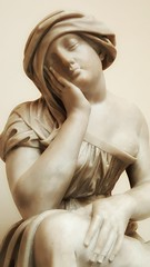 Beauty is timeless (kriswoods2322) Tags: museum statue women greek sculpture artgallery snapseed mobile phone resting face marble