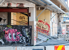 Underpass (Nick Barkworth) Tags: nikond90 nikkor355mm stockholm urban sweden slussen urbanart streetart