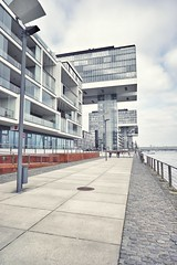 kranhauser (winne pu) Tags: kranhaus cologne kln germany architecture rheinauhafen