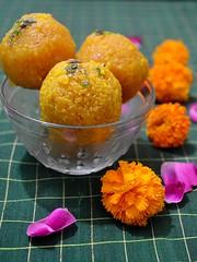 Weekend Laddus... (Veena Nair Photography) Tags: laddu laddoo dessert sweet food veenanairphotography home stilllife