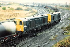 20085 20020 Warrington Arpley 28th October 1986 (Skelton80s) Tags: 20085 20020 warrington arpley 28th october 1986