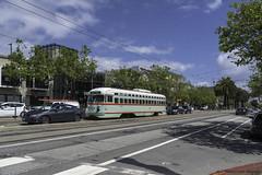 muni1073pcc (ExactoCreation) Tags: muni pcc trolley tram streetcar