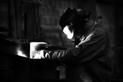 Metier : soudeur -Steve.C- (Steve-©-foto) Tags: vmdeligny vm deligny arcal soudeur soudure acier feu charpente fer