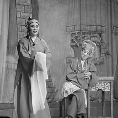 DSC09192_cr (rickytanghkg) Tags: hongkong fulan festival sonya550 sony a550 blackandwhite chinese opera bw