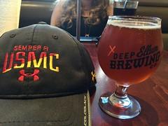 Village Burger Bar (jimward85) Tags: usmc beer deepellum westvillage deepellumbrewingcompany ipa semperfi villageburgerbar