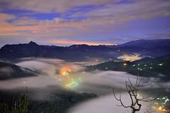 ~~   Colored glass light Clouds (Shang-fu Dai) Tags:  taiwan  clouds nikon d800e sky   coloredglasslight liulilazurite landscape formosa nightscene nantou