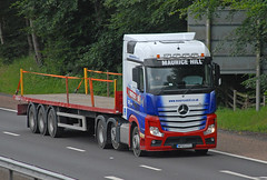 Mercedes BENZ - Maurice Hill Transport  WP65 EYU (john_mullin Thanks for 12 million views) Tags: scotland scottish british uk truck trucks trucking lorry lorries hgv commercials transport vehicle vehicles goods distribution freight haulage supply delivery logistics perth perthshire
