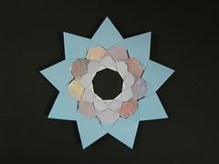 The Nonag (Mlisande*) Tags: mlisande origami modular nonagon star