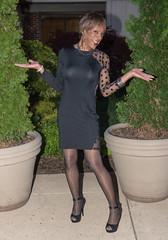What It's All About! (kaceycd) Tags: crossdress tg tgirl lycra spandex seethru seethrough mesh minidress pantyhose pumps anklestrappumps peeptoepumps opentoepumps highheels stilettoheels sexypumps stilettos s