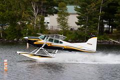 Private Cessna A185F Skywagon N185GN (jbp274) Tags: airplanes greenville seaplane floatplane 52b flyin lake water cloudy greenvilleseaplaneflyin cessna c185 skywagon mooseheadlake