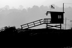 Baywatch series finale (Anemic Amour) Tags: paesaggio costa allaperto litorale oceano ocean pacifico santamonica losangeles california usa