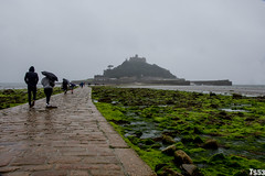 St. Michael's Mount in drizzle (todde.sin ...expect the unexpected...) Tags: landscape landschaft reisen travel cornwall uk