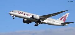 A7-BCY BOEING 787-8 DREAMLINER (douglasbuick) Tags: aircraft boeing b7878 dreamliner a7bcy qatar airways doha jet plane takeoff egph edinburgh airport aviation scotland flickr airliner airlines nikon d40
