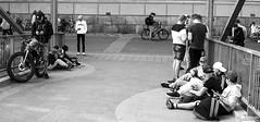 Pokestop (madmtbmax) Tags: pokemon go pokestop street life blackandwhite schwarzweiss blanco y nero youth jugend play spiel bridge turku finnland finland bw sw zwartwit nikon d700 50 mm black white schwarz weiss scene young junge