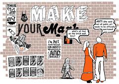 What Clover said (Miss Mini Graff) Tags: clovermoore poster tony a2 makeyourmark screenprint fundraiser broke sydney australia serigraph