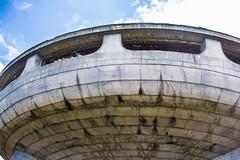 BUZLUDZHA (RAFFI YOUREDJIAN PHOTOGRAPHY) Tags: buzludzha bulgaria spaceship soviet architecture ruin graffiti communist derelict abandoned relic distasteful building monument