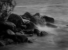 Storm (markorsr) Tags: storm water lake mamiya m645 645 mediumformat blackandwhite bw monochrome joensuu finland honkaniemi