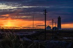 Grtta sunset (orkell) Tags: sunset slarlag sun lighthouse viti grtta seltjarnarnes sk clouds nikkorafs70200mmf4gedvr nikond750