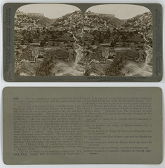 The Valley of Kedron and Village of Siloam, Palestine (SMU Central University Libraries) Tags: valleys